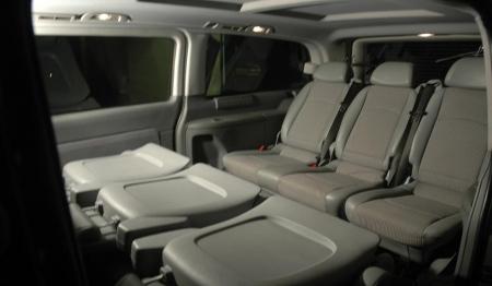 6 Seater Mercedes Viano Booking Delhi India Luxury