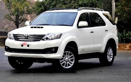 Toyota Fortuner Rent A Toyota Fortuner Car India Toyota Fortuner