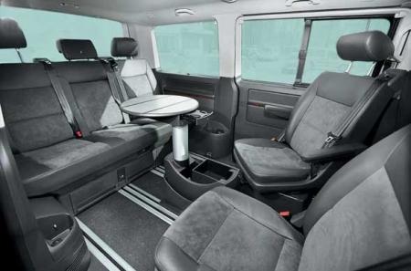 5 Seater Caravelle Multi Van Booking Delhi India Luxury