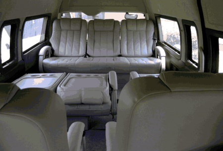 10 Seater Toyota Passenger Van Booking Delhi India Luxury