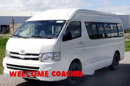 9 Seater Toyota Hiace Minivan booking Delhi India, Luxury